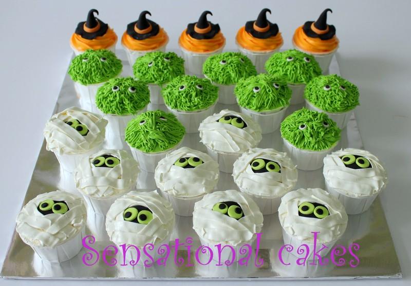 The Sensational Cakes Beautiful Beautiful Spooky Scary 3d Cupcakes