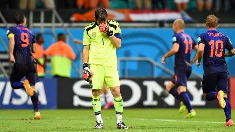 España fue humillada por Holanda
