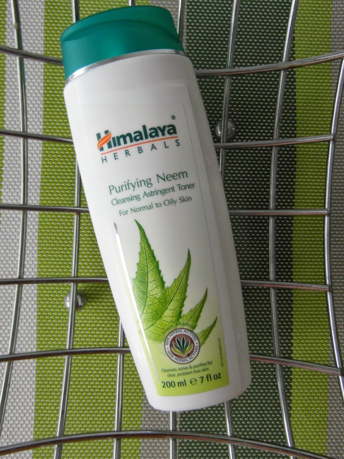 Himalaya Herbals - hĺbkovo čistiace pleťové tonikum