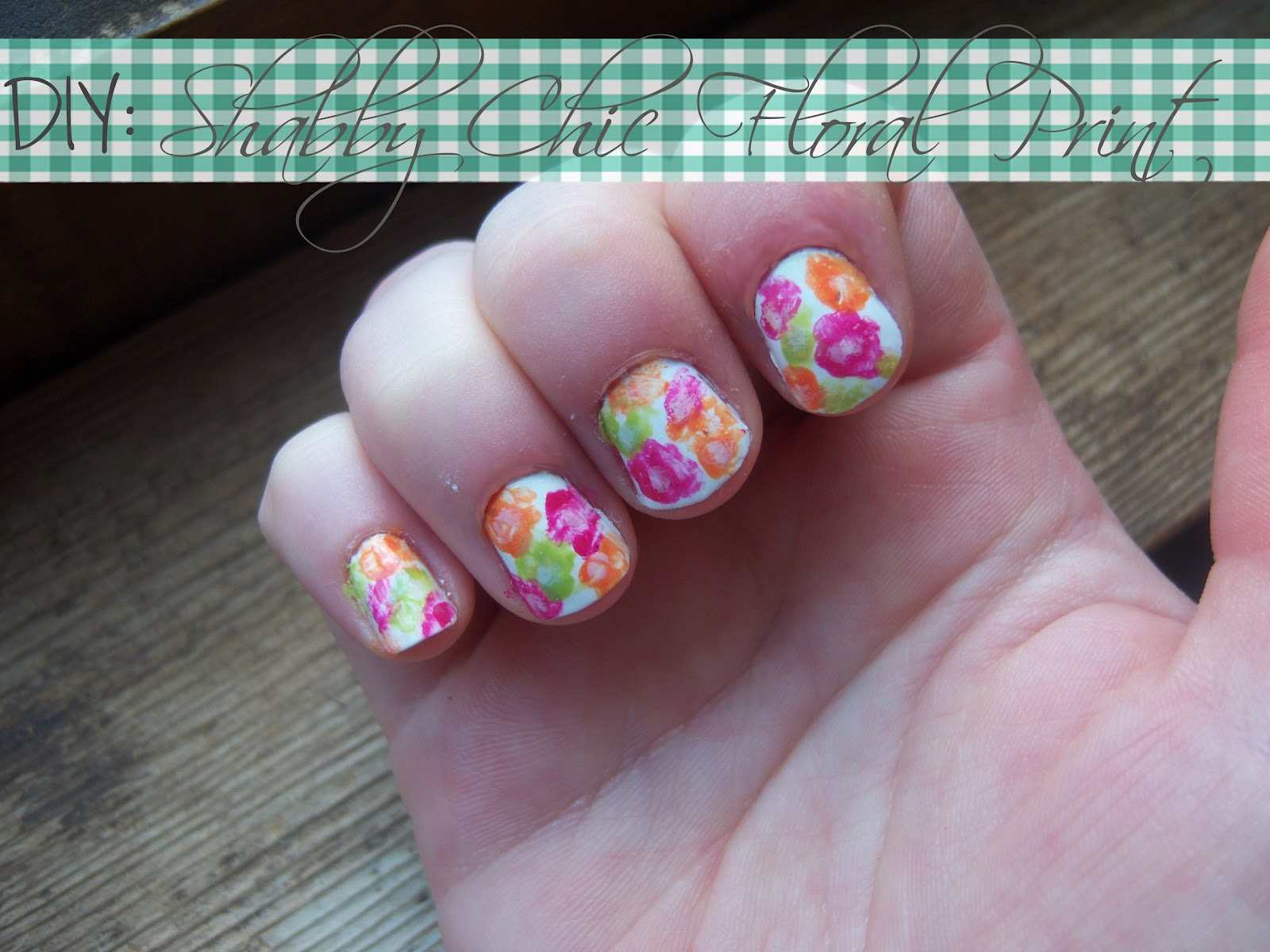 Mind Body Beauty: NOTW: Shabby Chic Floral Print