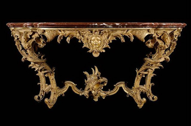 Console table,  France, 1725