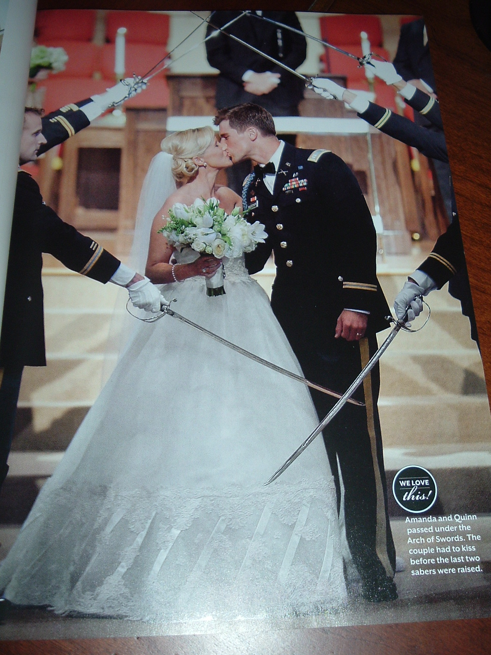 Amanda and her groom Quinn were married in the Greensboro, Georgia ...