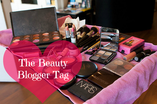 The Beauty Blogger tag, blogger tag, get to know me, beauty