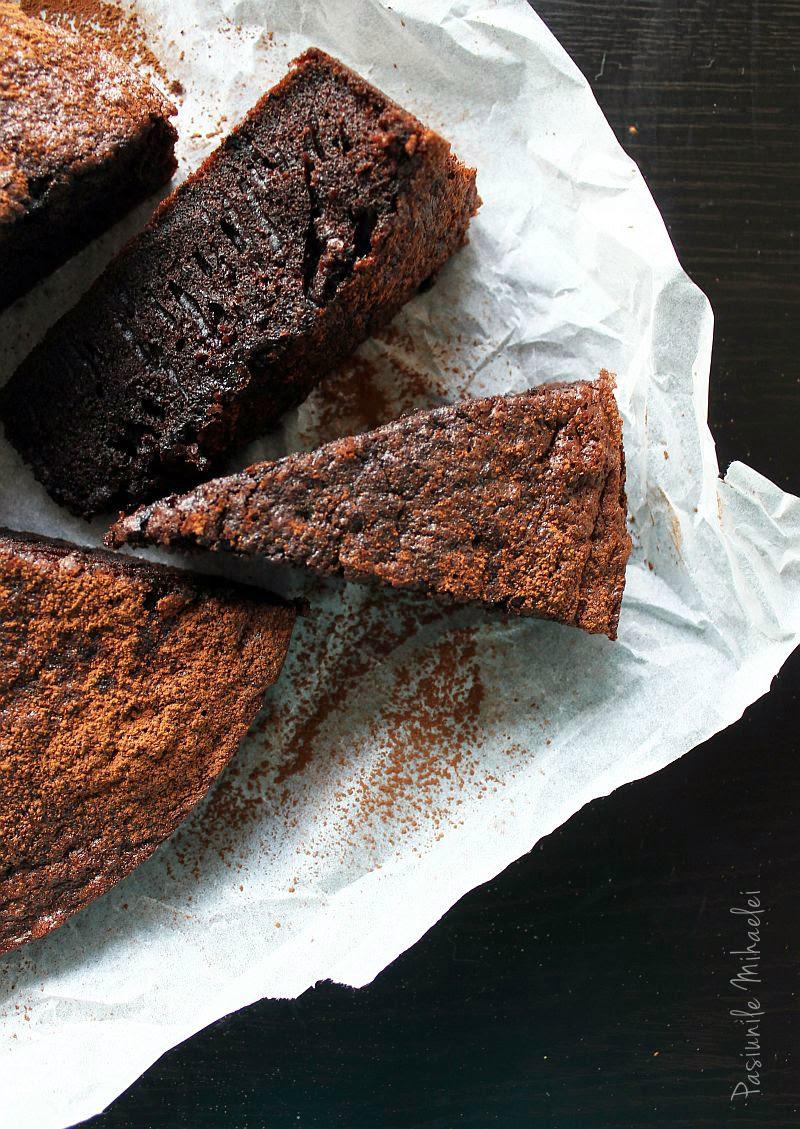 Prăjitura rapidă cu ciocolată, fără lactate