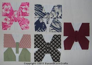 butterfly quilt blocks