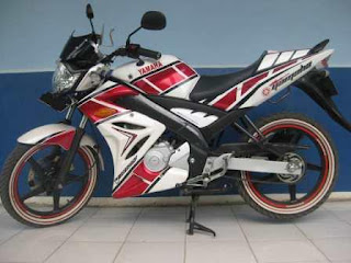 Foto Modifikasi Yamaha Vixion Simple Fairing