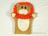 Lion puppet