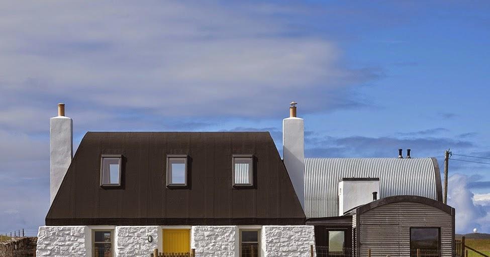 Una granja reformada en Escocia