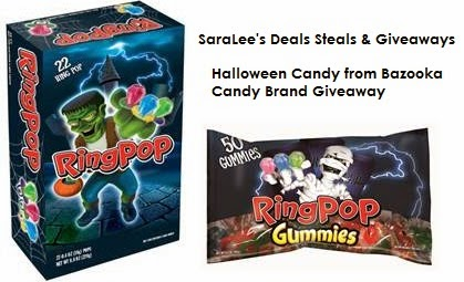 Enter the Halloween Candy Giveaway. Ends 10/31.