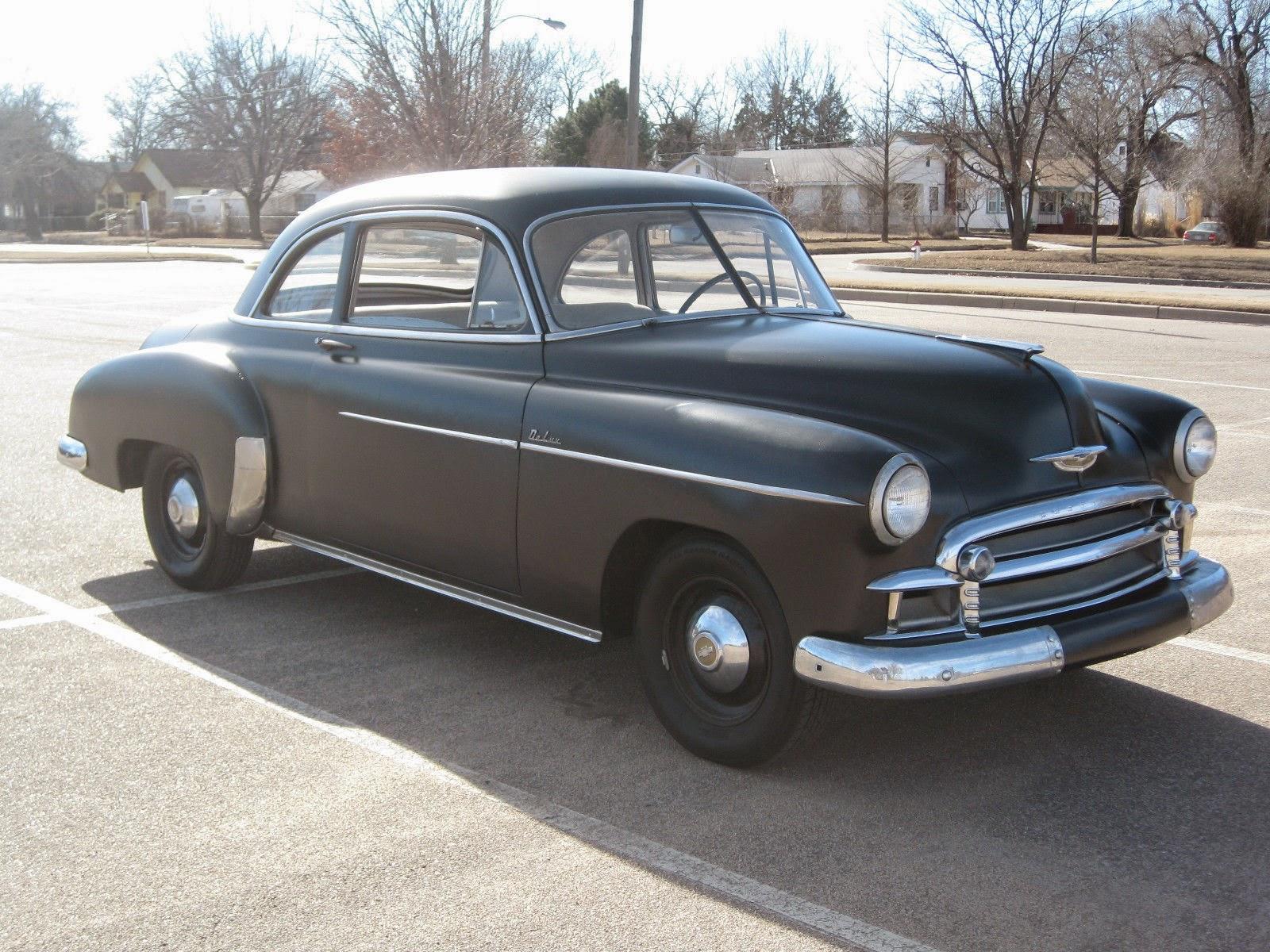 All american classic cars 1950 chevrolet deluxe styleline for 1950 chevrolet 2 door