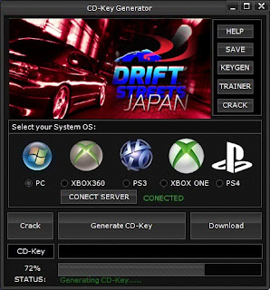 Drift Streets Japan CD Key Generator (Free CD Key)