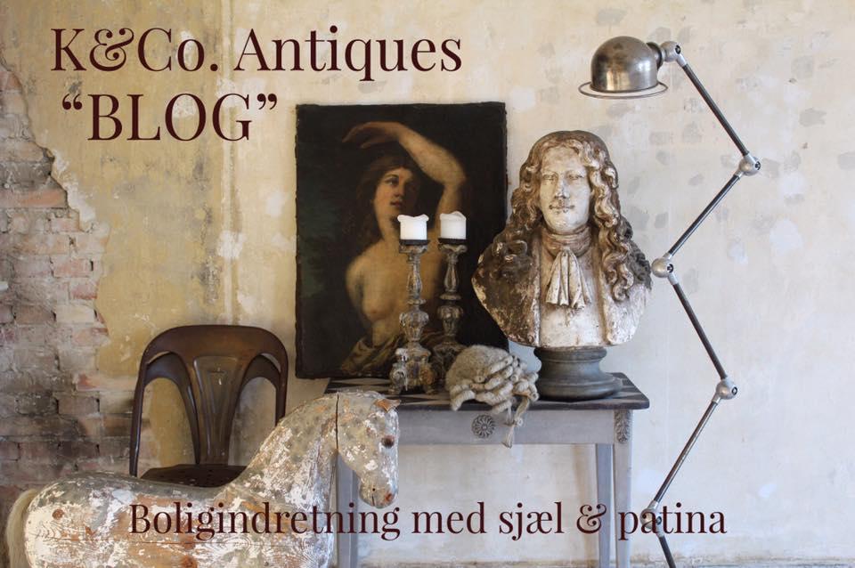 K&Co. Antiques / Bolig blog