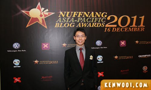 nuffnang blog awards 2011 wall