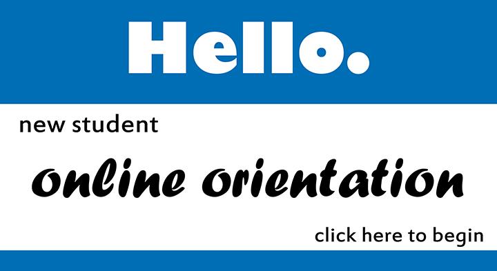 NEW Online Orientation!