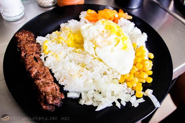 Beef Kabab Rice Meal of Ababu Persian Kitchen