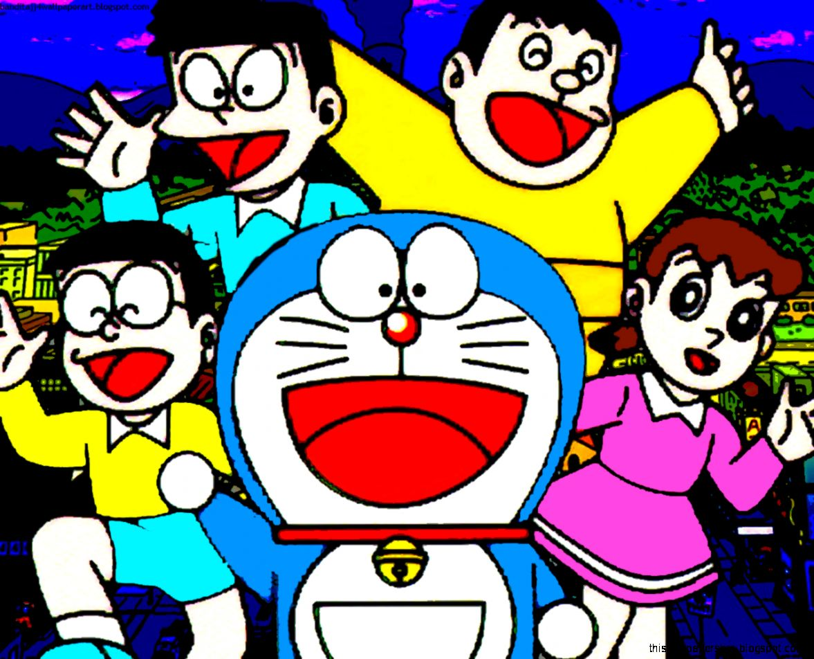 Doraemon giant nobita shizuka suneo this wallpapers view original size voltagebd