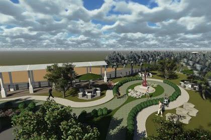 Jasa Desain Taman Gambar Lanscape Siteplan yang Asri 450 ribuan