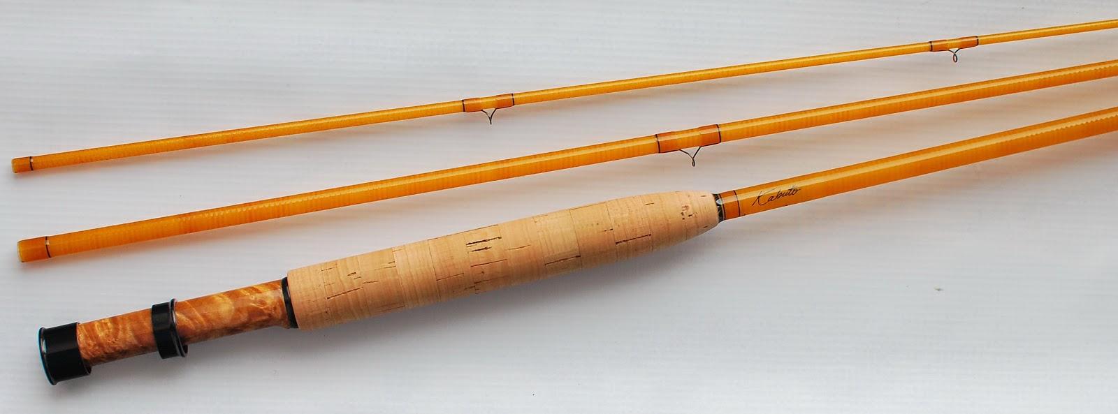 The fiberglass manifesto tightloop fly rods kabuto 7033 build for Fiberglass fishing rods