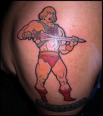 Tatuaje de He-Man