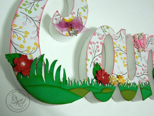 Goiatz scrap letras decoradas candela - Letras decoradas scrap ...