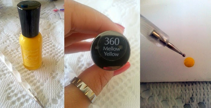 Sally Hansen's Mellow Yellow