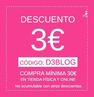 CUPÓN DESCUENTO 3€