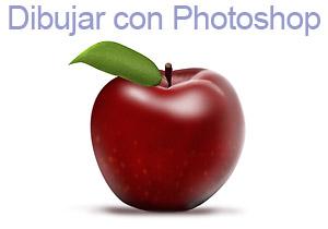 Dibujar una manzana hiperrealista