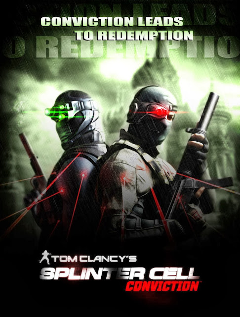 Splinter Cell Convication Ripped PC Game Free Download 4.7GB