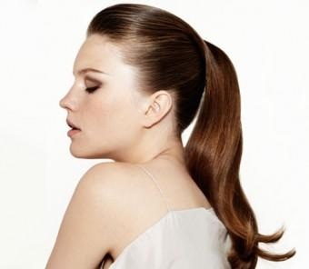Sleek Ponytail to Attend a Party