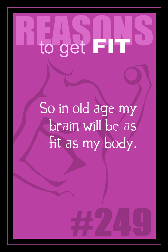 365 Reasons to Get Fit #249
