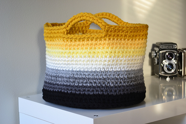 Late summer tip: Crochet beach bag