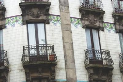 Gijón, Modernismo, edificio calle Instituto 16