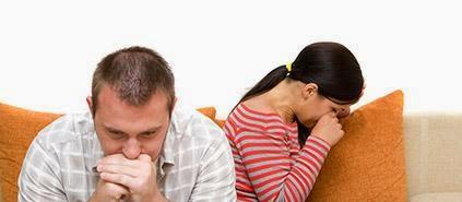 الخيانة الزوجية - زوجان تعيسان رجل امراة غير سعداء الطلاق الانفصال - betray -betrayal divorce
