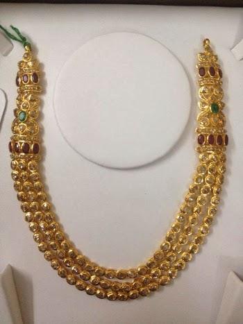 Latest Gold Jewellery Designs Uncut Diamond Jewellery
