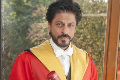 Shah Rukh Terima Gelar Doktor Kehormatan Universitas Edinburgh