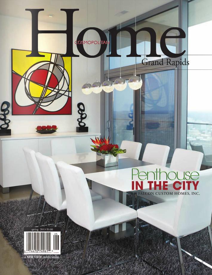 Cosmopolitan Home Grand Rapids: Contemporary Home Tours