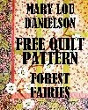 Quilt Pattern - Forrest Fairies