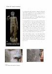 """Intervento conservativo per la scultura denominata """"Il Cacciatore"""", Giardino di Boboli, Firenze."""