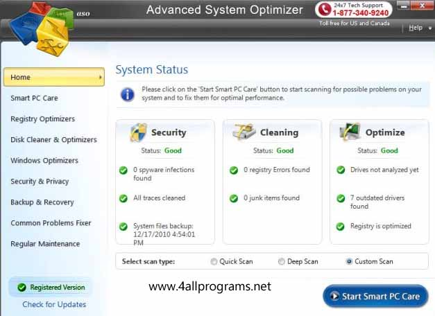 Cool Advanced System Optimizer 3.9.1111.16432 final ��������