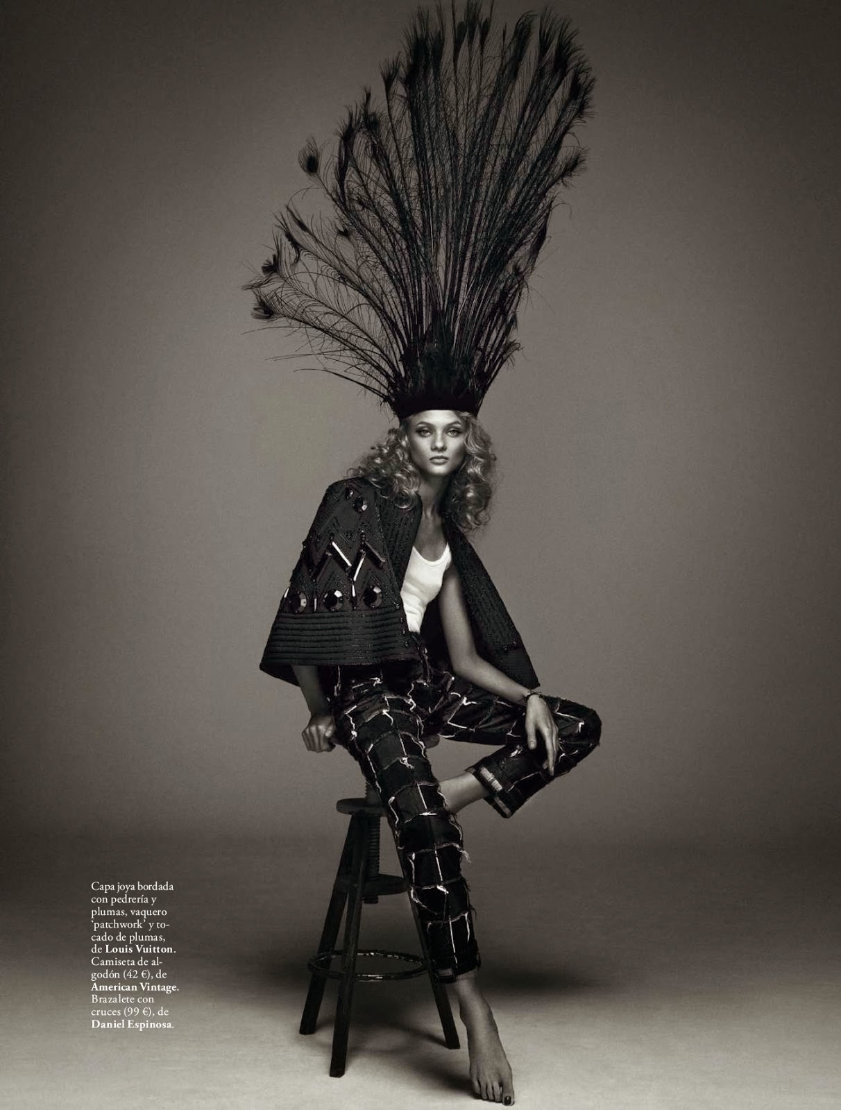 Anna Selezneva Magazine Photoshoot March 2014,