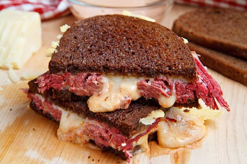 Reuben Sandwich on Closet Cooking