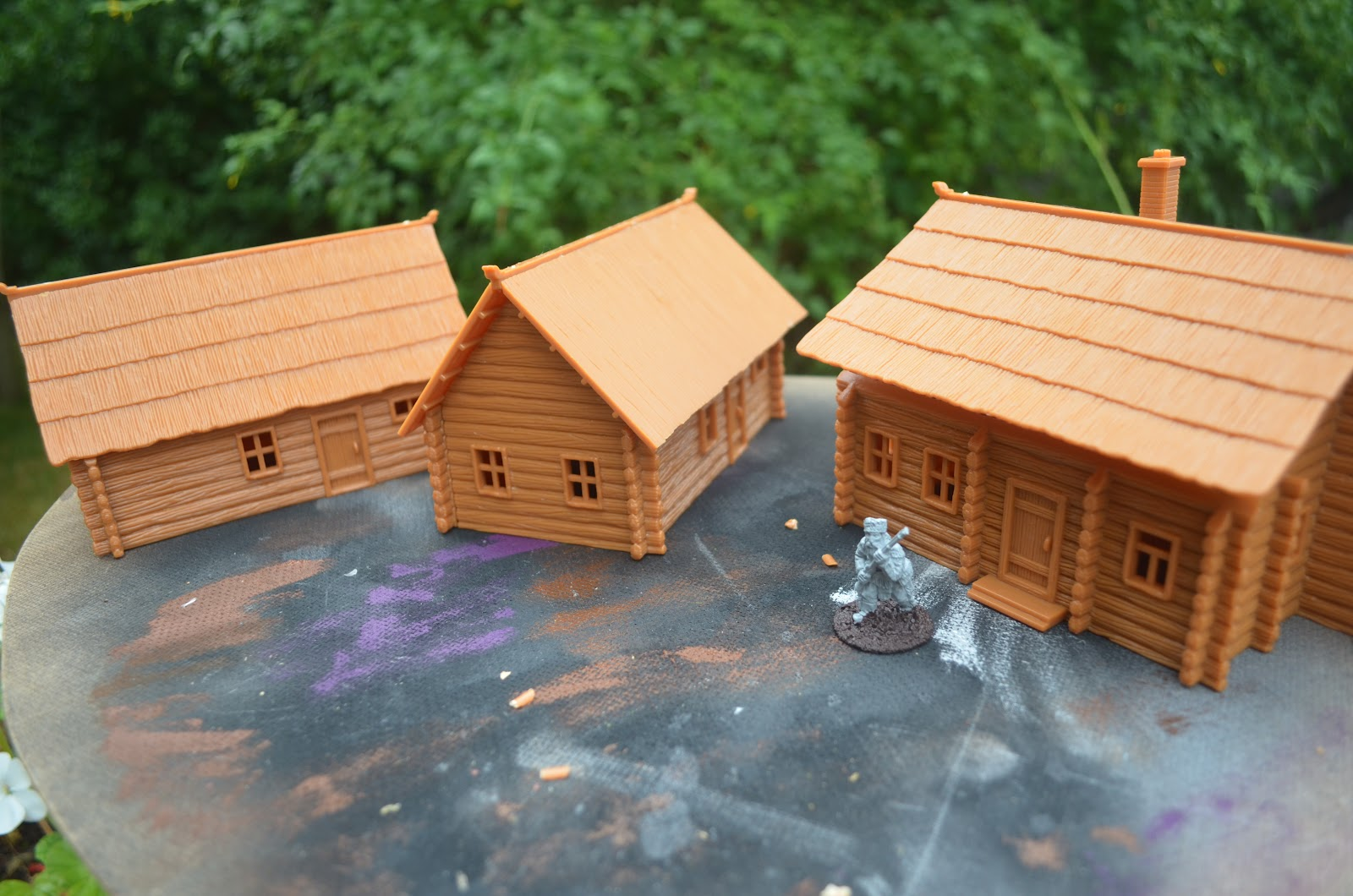 Wonderful image of Shed Wars: 28mm Wargames Log Cabins (larger than sheds .) with #B0661B color and 1600x1060 pixels