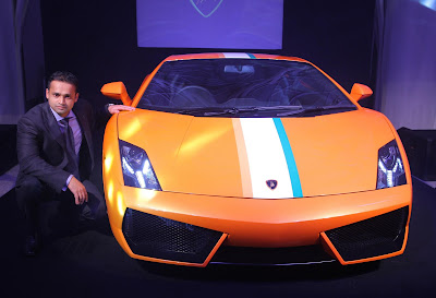 Lamborghini launches an Indian Limited Edition Gallardo LP550-2 to commemorate its 50th Anniversary celebration