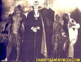 Manphibian, Dracula Frankenstein's Monster Mummy Wolfman Monster Squad