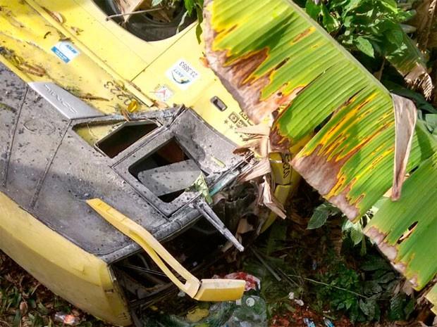 Acidente com ônibus de banda na Bahia (Foto: Marcus Augusto/Voz da Bahia)