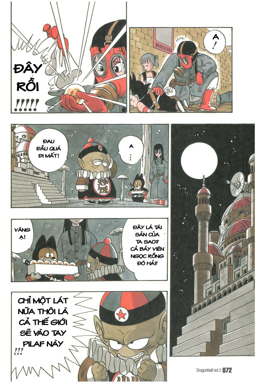xem truyen moi - Dragon Ball Bản Vip - Bản Đẹp Nguyên Gốc Chap 19