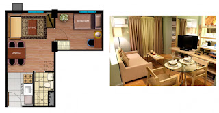Avida Towers Sucat One Bedroom Unit Plan