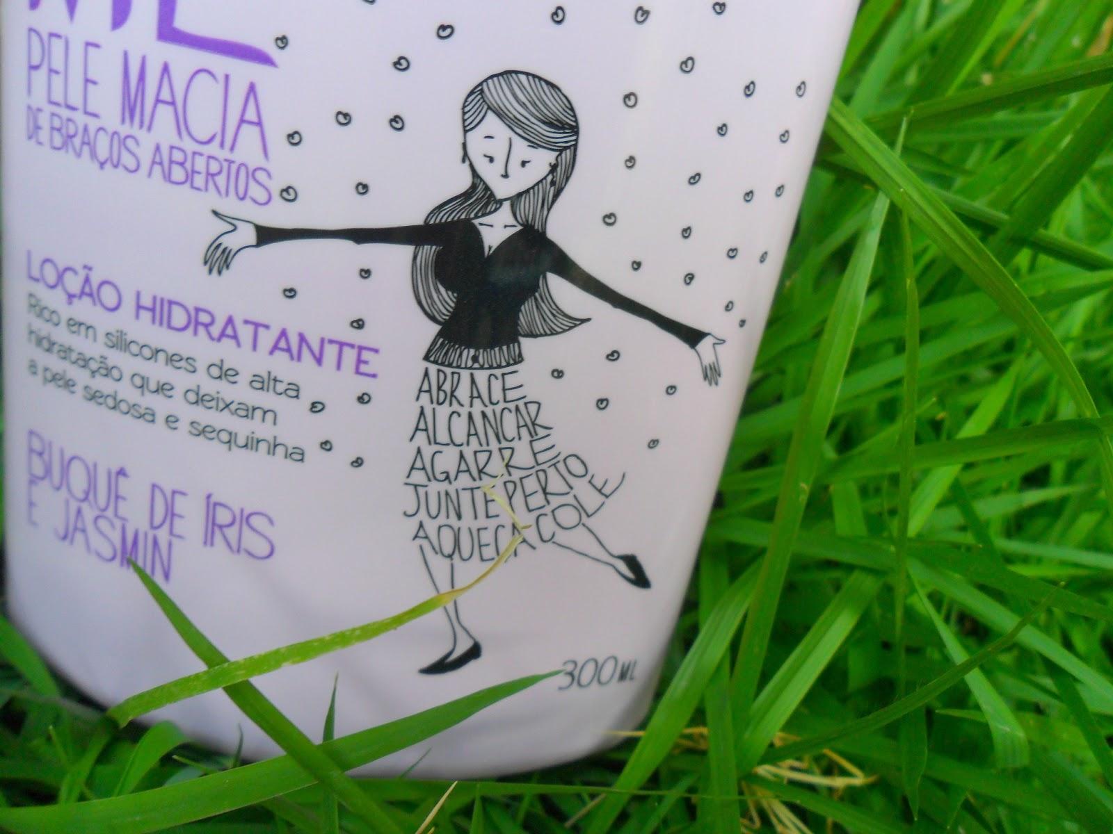 LOÇÃO HIDRATANTE HUG ME (BUQUÊ DE ÍRIS E JASMIM) - THE BEATY BOX #3
