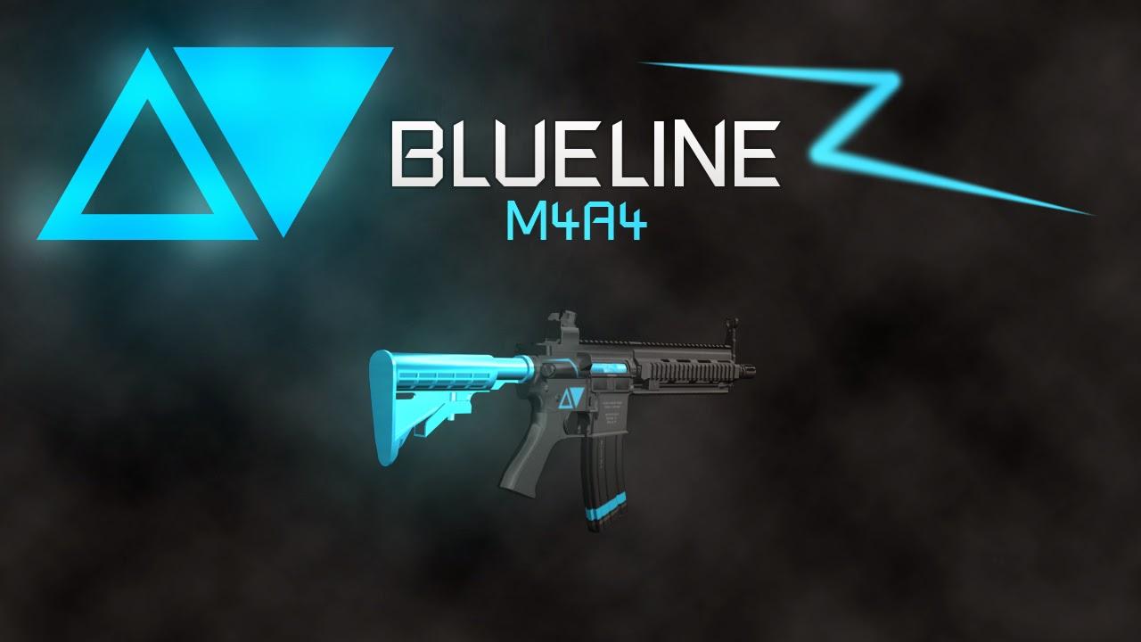 GTA SA - BLUELINE WEAPON PACK M4