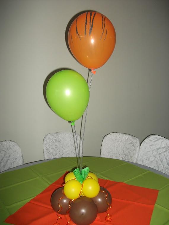 Decoração mesa convidado 3